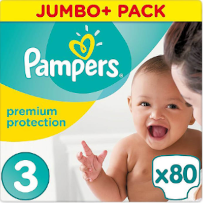 Pampers - Premium Protection - Jumbo+ - 3