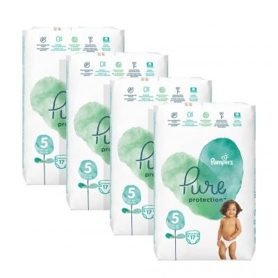 Pampers - Pure Protection - Mega pak - 5