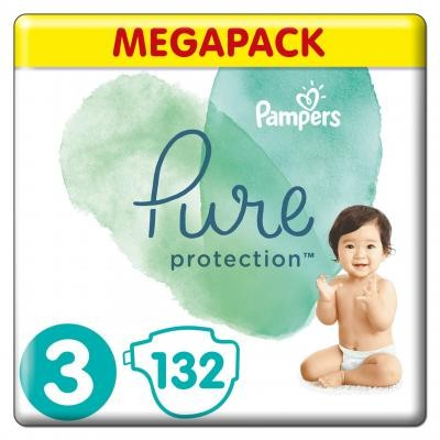 Pampers - Pure Protection - Large Bag - 3
