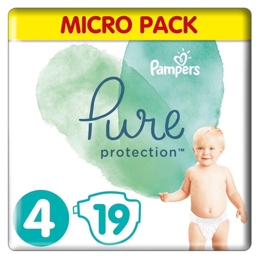 Pampers - Pure Protection - standaard pak - 4